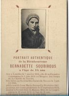 H1/      BERNADETTE  SOUBIROUS      PORTRAIT  AUTHENTIQUE!!!! - Religion & Esotericism