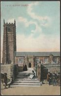St Buryan Church, Cornwall, C.1905 - Pictorchrom Postcard - England