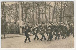 Bruxelles      Funérailles Du Roi Albert. Un Détachement Français Défile Devant Le Cercueil - Fêtes, événements