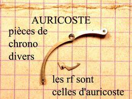 Auricoste Chrono Pièces Détachées Vendu A La Pièce A Partir De 15€ Les RF Sont  D'Auricoste, Voir Lemania; Valjoux.. - Jewels & Clocks