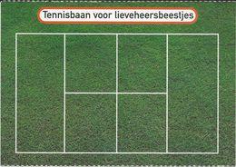 Postcard Boomerang Holland - Tennis Court - Tennis