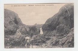 56 - BELLE ILE EN MER - BANGOR / ROCHERS DU TALUD - LE LABYRINTHE - Belle Ile En Mer