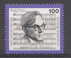Allemagne Rep.Fed. 1992  Mi.:nr. 1637 Todestag Von Hugo Distler  Neuf Sans Charniere / Mnh / Postfris - Neufs