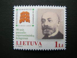 The 90th World Congress Of Esperanto # Lietuva Litauen Lituanie Litouwen Lithuania 2005 MNH # Mi. 880 - Lithuania
