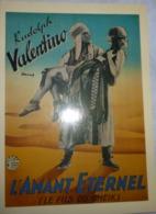 Carte Postale : L'Amant Eternel (Le Fils Du Cheik) (affiche Film Cinéma) Rudolph Valentino - Affiches Sur Carte