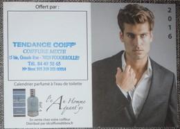 Petit Calendrier Poche Parfumé 2016 Coiffeur Aquant'ys - Calendars