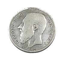 2 Franc  - Belgique - 1867 - TB -  Argent - - 1865-1909: Leopold II