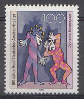 Allemagne Rep.Fed. 1992  Mi.:nr. 1626 Bund Deutscher Amateurtheater  Neuf Sans Charniere / Mnh / Postfris - Neufs