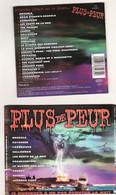 CD Plus De Peur Musique Films Horreur Etat: TTB Port 110 Gr Ou 30gr - Soundtracks, Film Music