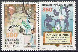 Congo N° 579/80 YVERT OBLITERE - Congo - Brazzaville
