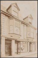 Henry H Berryman's Shop, Fore Street, Camborne, Cornwall, 1905 - W J Bennetts RP Postcard - England