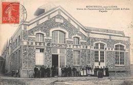 MONTREUIL AUX LIONS - Usine De Passementerie Henri CAEN & Frères - La Façade - Other Municipalities