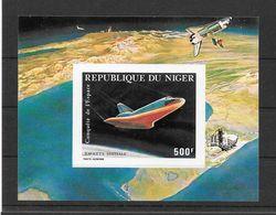 Niger Bloc Navette Spatiale Non Dentele/imperf/B ** - Space