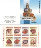 GEORGIA, 2003, Booklet 6, Minerals - Géorgie