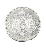 20 Francs  - Belgique - 1934 - Légende Fr. - TB+ -  Argent - - 11. 20 Francs & 4 Belgas