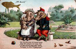 Cochons - Les Tourlourous De Bonne Mine... Poisson - 1er Avril - Poisson D'avril