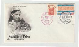 Palau FDC 1983 Mi.nr. 1 - Palau