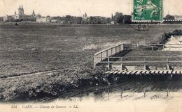 Cpa Caen 14 Calvados Champ De Course Tribune Hippodrome - Caen