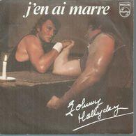 "45 Tours SP - JOHNNY HALLYDAY - PHILIPS 6010458 -  ""  J'EN AI MARRE "" + 1 - Vinyl Records"