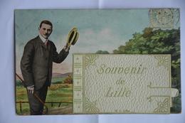 Carte A Systeme-souvenir De LILLE-petites Vues -4-sous Le Morceau Blanc - Lille
