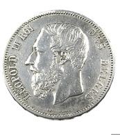 5 Francs  - Belgique - 1873 -  TB+  -  Argent - - 09. 5 Francs