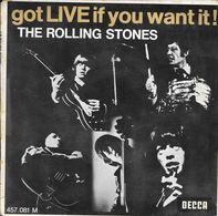 "The Rolling Stones- ""Got LIVE If You Want""  -Super 45 T (4 Titres)-Decca-BE - Disco & Pop"