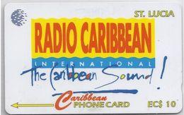 ST. LUCIA - RADIO CARIBBEAN - 15CSLB - Saint Lucia