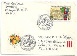 8921 Hungary SPM Flora Plant Fruit Grapes Philatey Nature Protection - Frutas