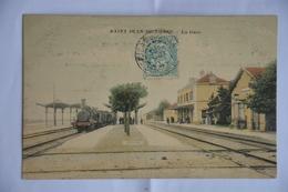 SAINT-JEAN-de-LOSNE-la Gare-train En Gare - Other Municipalities