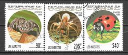 Congo N° 991/93 YVERT OBLITERE - Congo - Brazzaville