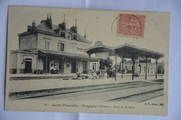 SAINT-FLORENTIN-   VERGIGNY-quai De La Gare - Saint Florentin