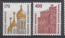 Allemagne Rep.Fed. 1991  Mi.:nr. 1535+1562 Sehenswürdigkeiten  Neuf Sans Charniere / Mnh / Postfris - Neufs