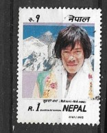 NEPAL 1993 Personalities    USED Sungdare Sherpa - Nepal