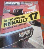Auto Journal N°14 15 Juillet 1971 Renault 17, Roadster Morgan, Nice 1971, Essai Renault Rodéo, Coupe Des Alpes Darniche - Auto/Motor