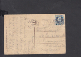 "BELGIO 1924 - Targhetta ""Exposition - Paris - 15 Mai - Esposizioni Universali"