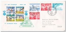 België 1960, Brief Van Brussel Naar Rome - Summer 1960: Rome