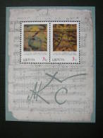 Art 85th Death Anniversary Of M.Chiurlionis # Lietuva Litauen Lituanie Litouwen Lithuania 1996 MNH # Mi. 619/0 Block7 - Lithuania