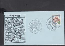 ITALIA  1986 - Annullo Speciale Illustrato - Sagra Uva E Vino - Pollutri (CH) - Vini E Alcolici