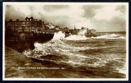 RB 1186 - Bamforth Real Photo Postcard - Stormy Day At Bridlington - Yorkshire - Otros