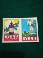 Calendrier Publicitaire Byrrh 1930 - Big : 1921-40