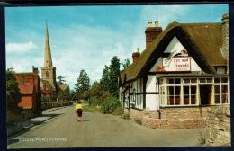 RB 1186 - J. Salmon Postcard - Fox & Hounds Public House Inn - Bredon Worcestershire - Worcestershire