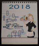 2018 CALENDARIO TAMAÑO MEDIANO BAR LA PETACA (ZARAGOZA) . - Calendarios