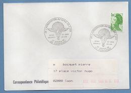 BT Bureau Temporaire De L' Aérostation Au Génie De L' Air Compiègne 1985 / N° 2378 Roul. Liberté Voy TB Ballon - Montgolfières