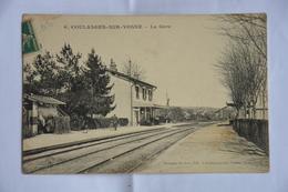COULANGES-sur-YONNE-la Gare - Coulanges Sur Yonne