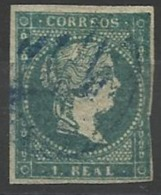 Espagne N° 36 Oblitéré 1855 - 1850-68 Kingdom: Isabella II