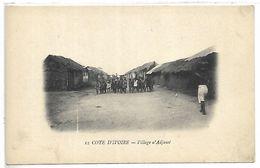 COTE D'IVOIRE - Village D'ADJAME - Côte-d'Ivoire