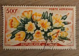 République Du Congo  - 1961 YT 4 Oblitéré - Poste Aerienne - Congo - Brazzaville
