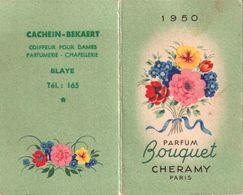 1950 Calendrier CACHEIN-BEKAERT Blaye 33 - Calendars