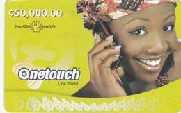 Ghana, C 50,000.00, Onetouch, Stop AIDS - Love Life, 2 Scans. - Ghana