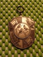 Medaille  / Medal - Vogels 1E Pr. Jeugd 1975 / Birds 1E Pr. Youth 1975 - The Netherlands - Medaglie